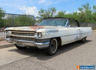 1964 Cadillac DeVille 2 dr convertible