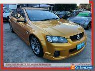 2011 Holden Commodore VE II SV6 Orange Automatic 6sp A Sedan