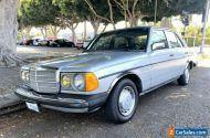 1983 Mercedes-Benz 200-Series 4dr 240 D Diesel Sedan