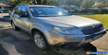 Subaru Forester X 2009 Manual Extremely low kms - 80,000km excellent condition