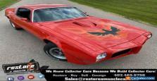1973 Pontiac Trans Am 455 - V8, 4spd, Buccaneer Red, Black Interior
