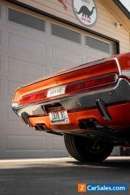 1970 Dodge Challenger 6.3 Convertible R/T Convertible