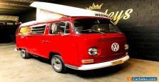 ~1969 VW Volkswagen WESTFALIA Kombi Camper POP TOP # campmobile toyota POPTOP