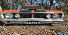 XY FALCON 500 SEDAN complete rusty as is XR XT XW GS GT Fairmont chrome parts