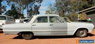 1963 Chevrolet Chev Belair sedan RHD Aussie delivered 350 engine 350? auto
