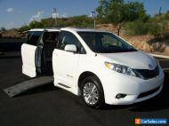 2014 Toyota Sienna XLE Wheelchair Handicap Mobility Van