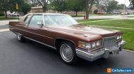 1975 Cadillac DeVille - COUPE DEVILLE