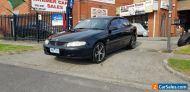 2002 Black Holden Sedan