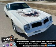 1976 Pontiac Trans Am 455ci-V8, 4 Speed, 38k Miles, White  Black Int