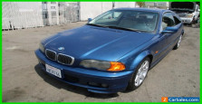 2001 BMW 3-Series 325Ci 2dr Coupe