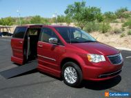 2013 Chrysler Town & Country Limited Wheelchair Handicap Mobility Van