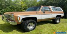 1980 Chevrolet Blazer Silverado