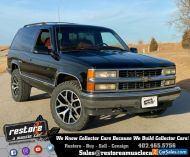 "1995 Chevrolet Tahoe  Blazer 2dr - 4x4, 5.7L - V8 EFI, 20"" Wheels"
