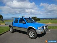 Holden Rodeo twin cab 4x4 turbo diesel sports
