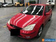 2002 Red Ford Focus Sedan
