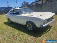 1971 Ford Capri GT V6 Turbo manual coupe Aust del ex show car Escort Cortina