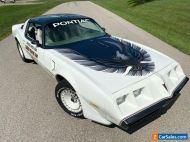 1980 Pontiac Trans Am Y85 Indy Pace Car - PHS, 10k Miles, AC, Loaded