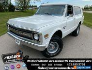 1969 Chevrolet Blazer K5 CTS 4x4 350ci Auto, Fresh Engine, Removable Top