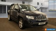 2011 JEEP COMPASS 2.2 CRD LIMITED 4WD, 1 F/OWNER, LEATHER TRIM, CLIMATE CONTROL.