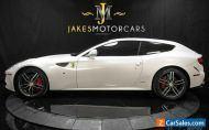 2012 Ferrari FF *PEARL WHITE ON BORDEAUX* *ONLY 11K MILES*
