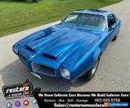 1970 Pontiac Firebird Formula, V8 Auto, 1 Owner, 70k Miles, Lucerne Blue