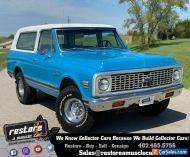 1972 Chevrolet Blazer K5 Cheyenne CST 4x4, 350 - Auto, AC, Removable Top