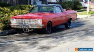 1966 Ford Ranchero chrome