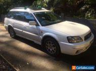 Subaru Outback 2002 - no rego