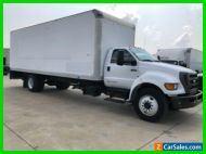 2015 Ford Super Duty F-750 Straight Frame 26ft Box Truck Diesel Moving Van Allis