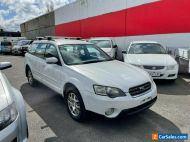 2004 SUBARU OUTBACK WAGON 3GEN 2.5LTR AWD AUTO NO RESERVE AUCTION NO REG NO RWC