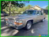 1986 Cadillac Fleetwood All Original Numbers Matching