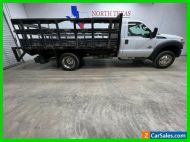 2015 Ford Super Duty F-450 DRW Diesel Stake Bed Tommy Gate Flat Bed Utility Bed