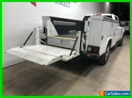 2016 Chevrolet Silverado 3500 4x4 Diesel Service Bed Tommy Gate Lift Camera To