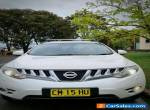 2009 Nissan Murano Ti Z51 Auto Air Leather Heated Seat Fully Optioned White SUV for Sale