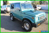 1988 Suzuki Samurai 2dr 4WD SUV