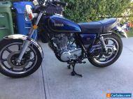 Yamaha: SR 500