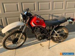 1983 Yamaha XT