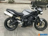 TRIUMPH STREET TRIPLE 675 67R 12/2009 MODEL CLEAR TITLE PROJECT MAKE AN OFFER
