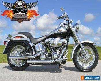 2003 Harley-Davidson 100th ANNIVERSARY FATBOY SOFTAIL EFI FLSTFI $7,500 for Sale