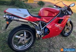 Rare original nr mint 1999 Ducati  996  sports motorcycle