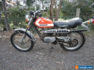 SUZUKI TS90 MOTORCYCLE 1972 GREAT ORIGINAL TRAIL BIKE HONCHO TC90 BARN FIND