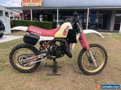 Yamaha YZ125 1983