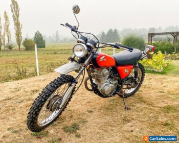 1975 Honda XL 175 for Sale