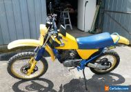 1984 SUZUKI DR250 MOTORBIKE VERY NICE AND CLEAN FOR ITS AGE.