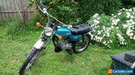 Vintage Motorcycle Suzuki TC125