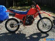 1985 Honda XR