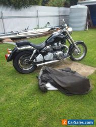 triumph america motorcycle 2006 very low kilometres excellent condition