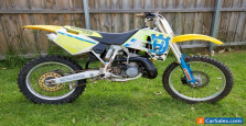 Husqvarna WR360 / 1994 Cagiva made. Crazy Two Stroke Weapon From The Past