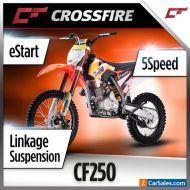 "Crossfire CF250 250cc Dirt Bike  19"" 16""  Off Road Motorbike"