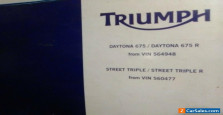 Triumph: Other